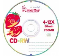 Диск SmartBuy CD-RW 700Mb 4-12x