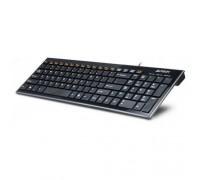 Клавиатура A4Tech KX-100 black USB slim Multimedia