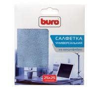 Салфетки Buro BU-MF микрофибра 25х25 см для удаления пыли коробка 1шт. сухая