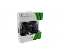 X-BOX 360 Сontroller Black Wireless гар.3мес