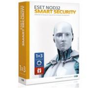 Антивирусное ПО ESET NOD32 Smart Security +Bonus+расширенный фун - ун лиц на 1 год на 3ПК или прод на 20 мес, BOX