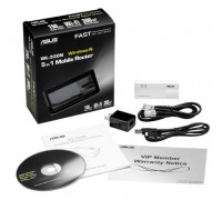 Роутер ASUS Mobile wireless router (WLAN 150Mbps, 802.11bgn+1xLAN RG45 10/100+1xUSB2.0) 1x int Anten