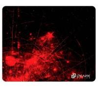 Коврик для мыши Oklick OK-F0252 красные частицы