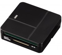 Картридер Hama 00094124 USB 2.0 черный