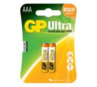 Батарейка GP Ultra Alkaline 24AU LR03 AAА (2шт.)
