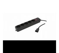 Сетевой фильтр PC Pet AP01006-E-BK 1,8m 5 розеток черный