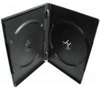 Бокс DVD-box 14мм двойной черный