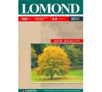 Фотобумага Lomond A4 160/50 глянцевая односторонняя
