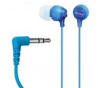 Наушники-вкладыши Sony MDR-EX15LP 1.2m голубой