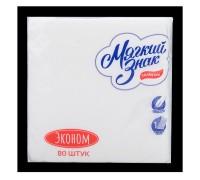 Салфетки бумажные Мягкий знак белый (80шт.)