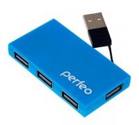 USB-разветвитель Perfeo PF-VI-H023 4-port USB 2.0 гар.3 мес.