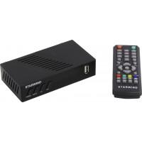 Ресивер DVB-T2 Starwind ST-140 черный