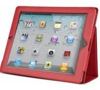 Чехол-подставка для Apple ipad2 красный
