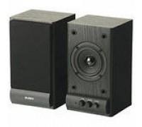 Колонки 2.0 Sven SPS-607, 2*3Вт, 80–18000Гц, mini jack, ДЕРЕВО, черный, 117 х 207 х 105мм