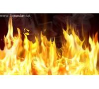 """Наклейка виниловая """"Flame"""" для XBOX360"""