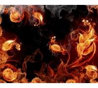 """Наклейка виниловая """"Fire Flower"""" для XBOX360"""
