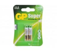 Батарейка GP Super Alkaline 24A LR03 AAА (2шт.)