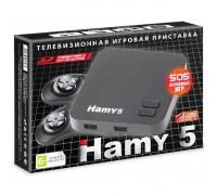 "Игровые консоли 16bit-8bit  ""Hamy 5"" (505-in-1) Classic Black"