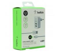 Зарядное устройство Belkin Home Charger 2 USB+кабель