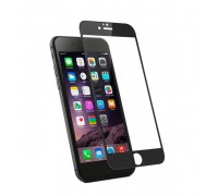 Защитное стекло для iPhone6/6S+ 2.5D 0.33мм черное