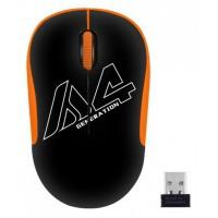 Мышь A4 V-Track G3-300N черный/оранжевый 1000dpi