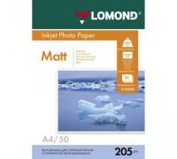 Фотобумага Lomond A4 205/50 матовая