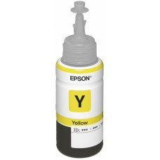Чернила Epson T66444A для L100, желтый