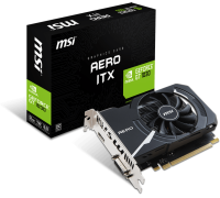 Видеокарта MSI NVIDIA GeForce GT1030 AERO ITX, 2Gb DDR4 64-bit, HDMI, DP, HDCP