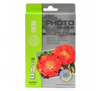 Фотобумага Cactus CS-GA618025 10x15/180г/м2/25л глянцевая