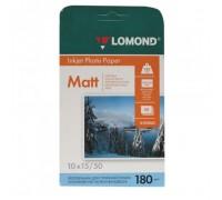 Фотобумага Lomond 10x15 180/m2/50л матовая для струйной печати