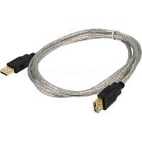 Кабель USB 2.0 удлинитель с позол. контактами 1,8 м