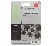 Картридж Cactus CS-PGI1400XLBK черный для Canon MB2050/MB2350/MB2040/MB2340