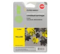 Картридж Cactus CS-PGI1400XLY желтый для Canon MB2050/MB2350/MB2040/MB2340