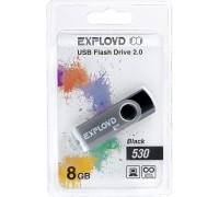 Флеш-накопитель Exployd 8GB USB2.0 530 (чёрный)