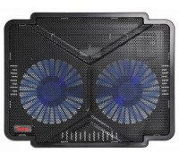 """Подставка для ноутбука BURO BU-LCP140-B214 14"""" 1xUSB 2x140mmFAN"""