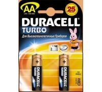 Батарейка Duracell LR-06 TURBO AA