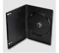 Бокс DVD-box 14мм одинарный черный (100)