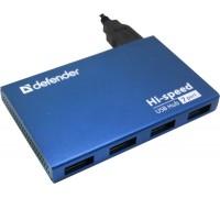 USB-разветвитель Defender USB Septima Slim USB2.0 хаб, 7 портов(с адаптером 2А)