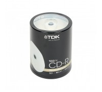 Диск CD-R TDK 700Mb 52x Printable cake