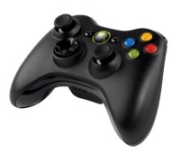 X-BOX 360 Сontroller Black Wireless (China) for Windows