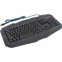 Клавиатура Oklick 730G Black USB Multimedia LED