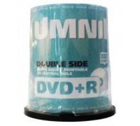 Диск двухсторонний  UMNIK DVD+R 9.4Gb