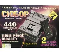 Игровые консоли 8Bit Сюбор (440-in-1) Black