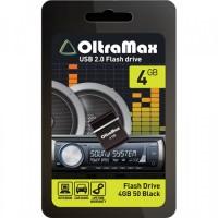 Флеш-накопитель OltraMax 4GB 50 черный гар.6 мес.