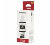 Чернила Canon GI-490BK для G1400/2400/3400, черный(135мл)