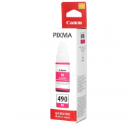Чернила Canon GI-490M для G1400/2400/3400, пурпурный(70мл)