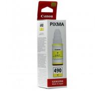 Чернила Canon GI-490Y для G1400/2400/3400, желтый(70мл)