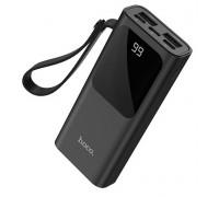 Зарядное устройство HOCO J41 10000mAh 2xUSB/Type-C/дисплей черный
