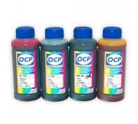 Набор чернил OCP для Brother LC1000C, LC1100C, LC980C, LC970C (4 x 100 мл)