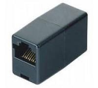 Адаптер HAMA H-44890 ISDN 8p8c удлиннительный для соединения двух патч-кордов черный